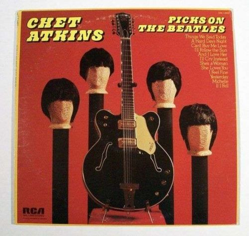 CHET ATKINS ~ Chet Atkins Picks On The Beatles 1966 Country LP