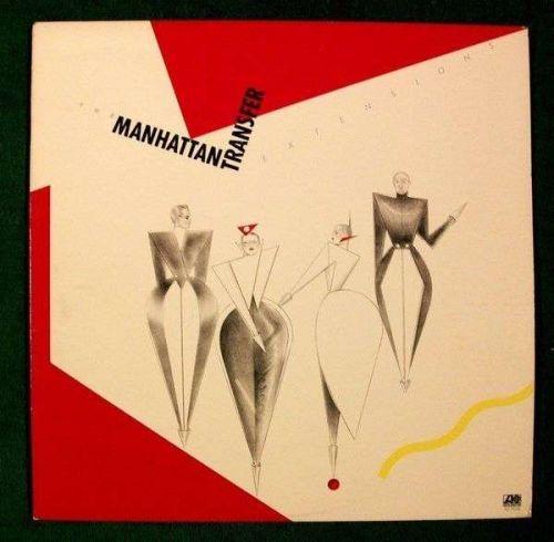 "MANHATTAN TRANSFER "" Extensions "" 1979 Pop LP"