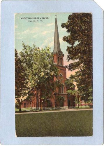 New York Homer Congregational Church ny_box3~1263