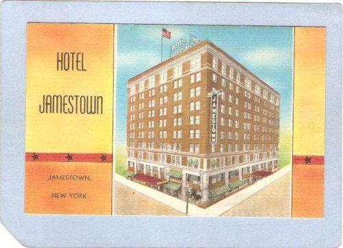 New York Jamestown Hotel Jamestown Street Scene Intersection ny_box3~940