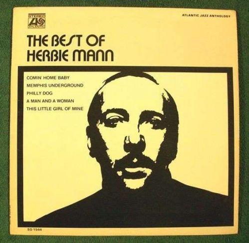 """HERBIE MANN """" The Best of Herbie Mann """" 1970 Jazz LP"""