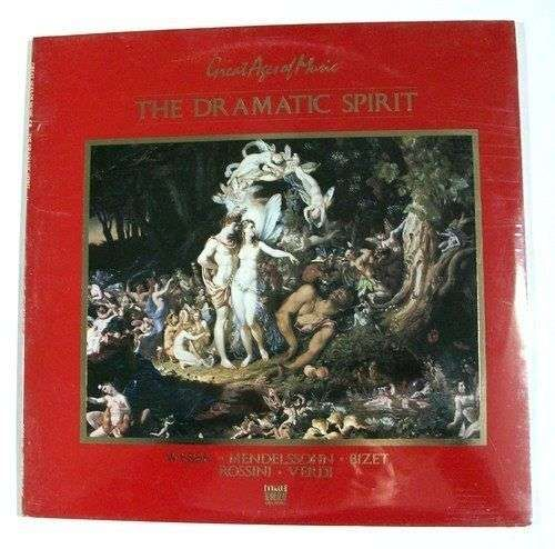 THE DRAMATIC SPIRIT ~ Great Ages of Music DBL Album / Unopened Classical 2LP