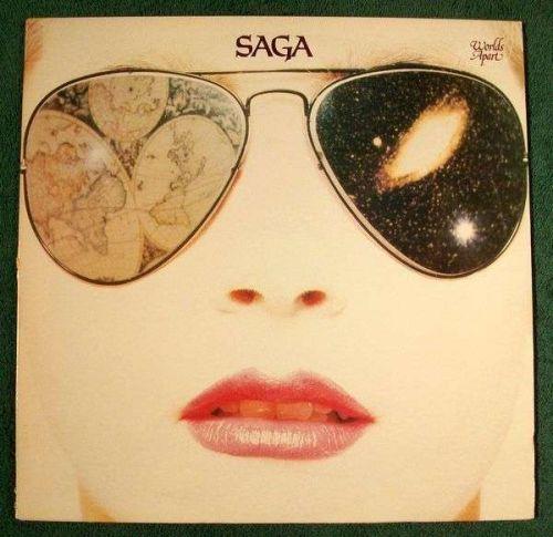 SAGA ~ Worlds Apart 1981 Rock LP