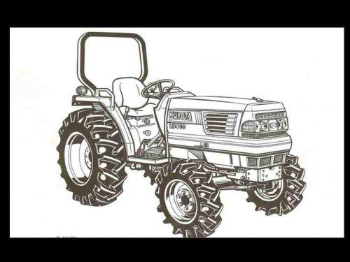 KUBOTA L3010 L3410 L3710 L4310 L4610 MANUAL for Tractor Repair and Operations