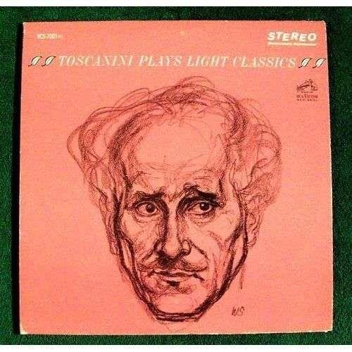 TOSCANINI PLAYS LIGHT CLASSICS Arturo Toscanini DOUBLE Classical LP