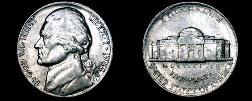 1984-D Jefferson Nickel