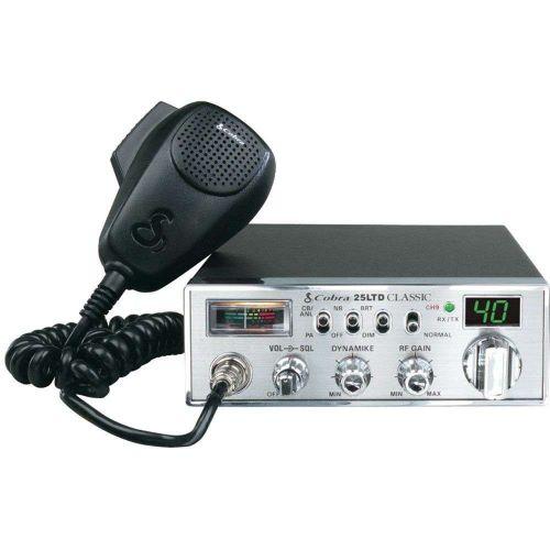 New COBRA 25 LTD 40-CHANNEL CLASSIC CB RADIO WITH DYNAMIKE GAIN CONTROL