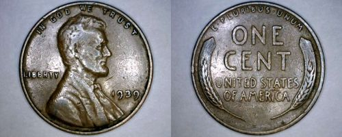 1939-P Abraham Lincoln Wheat Penny