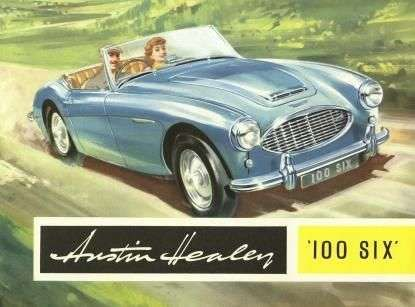 AUSTIN HEALEY 100 OPERATIONS & PARTS MANUALs Service Workshop Repair for 100-6