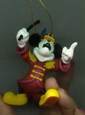 Mickey Moue Bandleader Figurine Disney Ornament