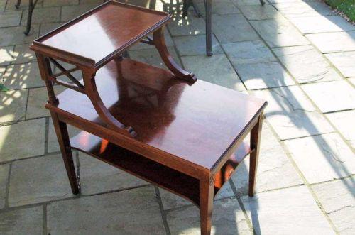 MERSMAN ANTIQUE STEP TABLE