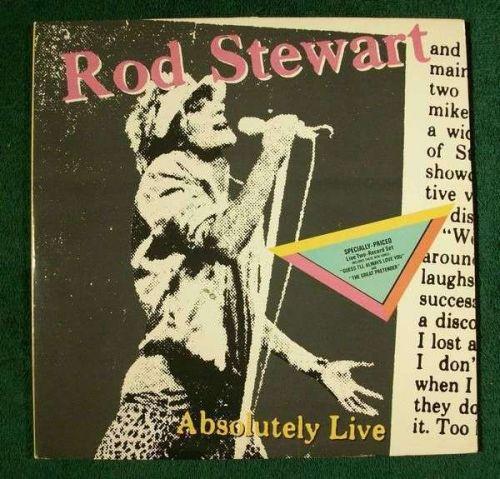 ROD STEWART ~ Absolutely Live 1982 DOUBLE Rock LP