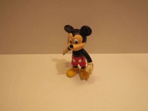 Mickey Mouse Plastic Figure Poseable Arms and Legs - Unknown Age