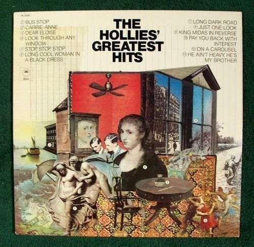 THE HOLLIE'S GREATEST HITS *** 1979 Pop Rock LP