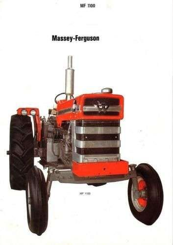 massey ferguson mf 1100 1130 tractor service manual 325pg with rh unisquare com Massey Ferguson 1160 Parts Massey Ferguson 1130