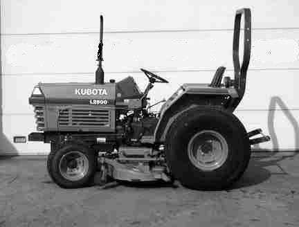 KUBOTA L2500DT L2500F L2500 DT F PARTS MANUALs 475pgs for Diesel Tractor Service