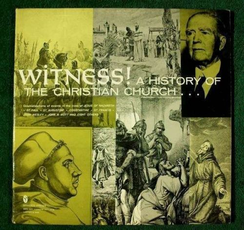 WITNESS! A HISTORY OF THE CHRISTIAN CHURCH ~ 1966 Double Album
