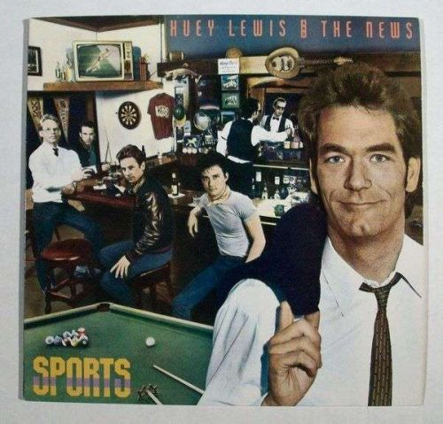 HUEY LEWIS & THE NEWS ~ Sports 1983 Pop Rock LP