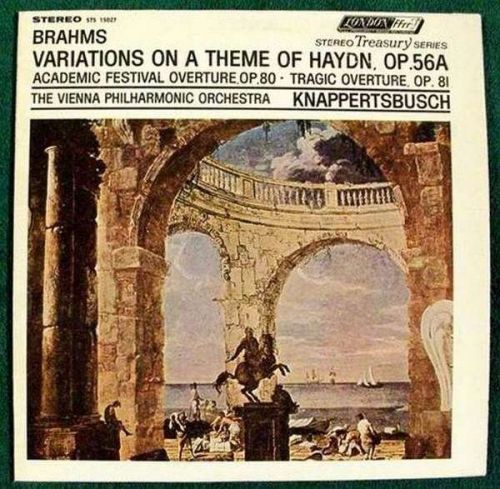 BRAHMS: Variations On A Theme Of Haydn, Op. 56A / Classical LP