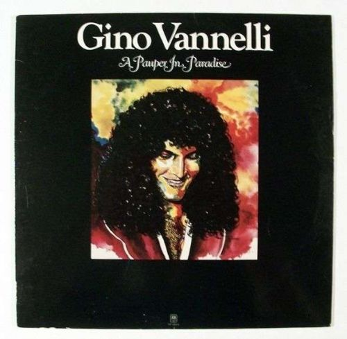 GINO VANNELLI ~ A Pauper In Paradise 1977 Rock LP