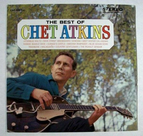 """The BEST of CHET ATKINS ~ 1964 Country LP """" Mr. Guitar """""""