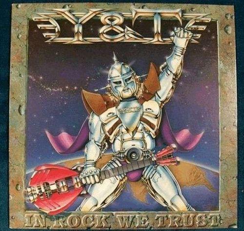 "Y & T "" In Rock We Trust "" 1984 Metal LP"
