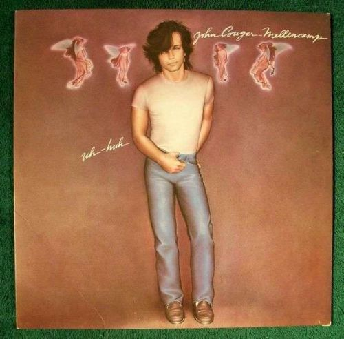 JOHN COUGAR MELLENCAMP ~ Uh-Huh 1983 Pop Rock LP