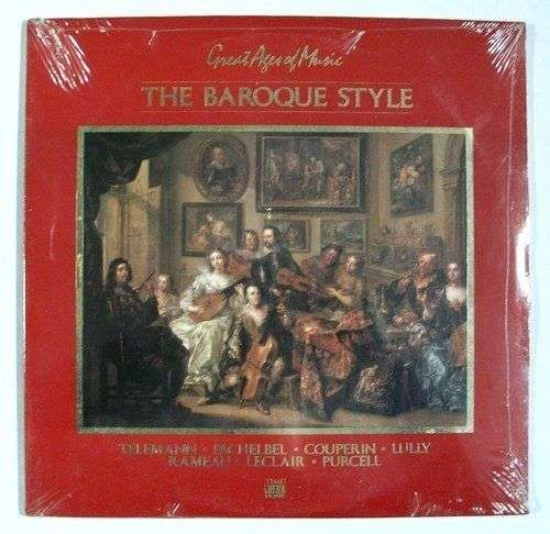 THE BAROQUE STYLE ~ Great Ages of Music DBL Album / Unopened Classical 2LP