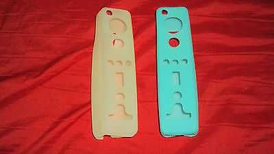 2 GEL SKIN COVERS FOR WIRELESS Wii CONTROLLERs NYKO SHIP SAME DAY NEXT