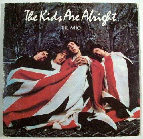 THE WHO ~ The Kids Are Alright 1979 DOUBLE Rock LP / with 20-page booklet
