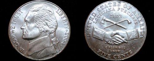 2004-D Jefferson Nickel - LA Purchase