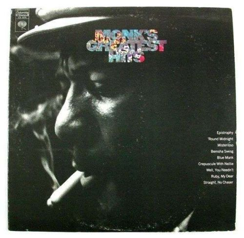 "THELONIOUS MONK "" Monk's Greatest Hits "" 1980's Jazz LP"