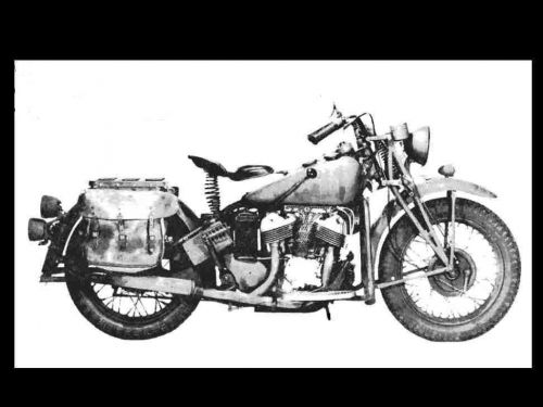 INDIAN 741 WORKSHOP SERVICE and PARTS MANUALSs + WW2 Indian Ad Art & Repair info