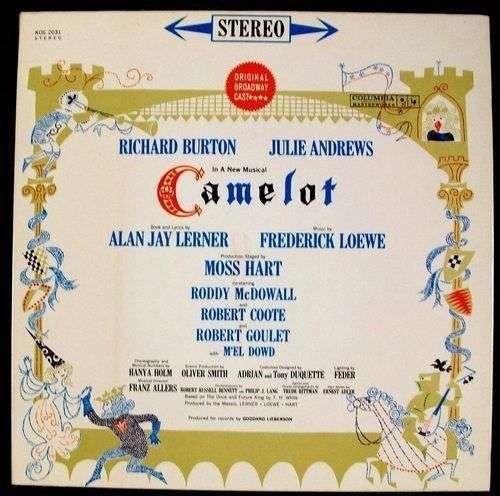 CAMELOT 1960 Soundtrack LP