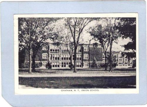 New York Chatham Union School Photo Type Card ny_box3~1204