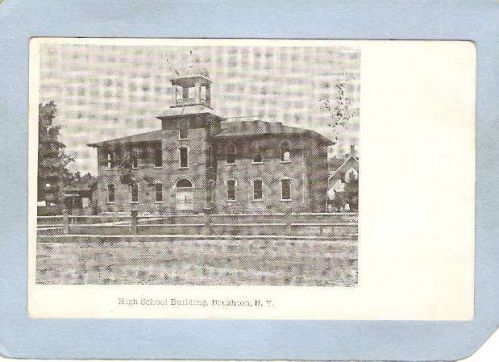 New York Brushton High School Building ny_box5~1799