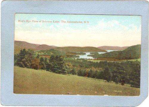New York Schroon Lake Bird's Eye View Schroon Lake ny_box5~1788
