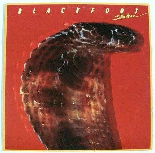 "BLACKFOOT "" Strikes "" 1979 Rock LP"