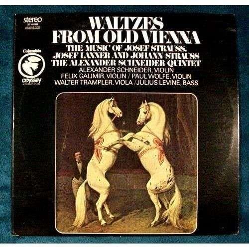 WALTZES FROM OLD VIENNA ~ Josef Strauss, Josef Lanner, and Johann Strauss LP