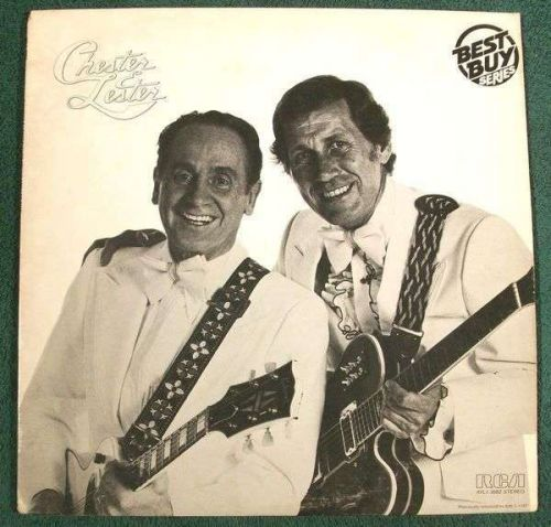 CHET ATKINS and LES PAUL ~ Chester And Lester 1980 Country LP
