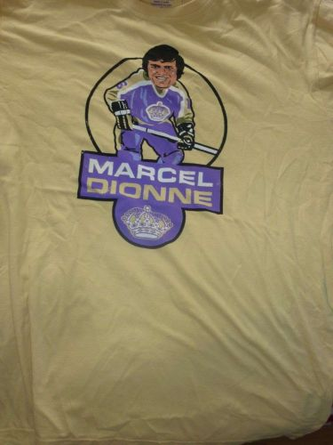VTG Los Angeles Kings T Shirt Rare NHL sz XL MARCEL DIONNE