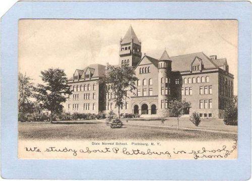 New York Plattsburg State Normal School ny_box3~1193