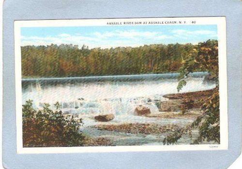 New York Ausable Chasm Ausable River Dam ny_box5~1538