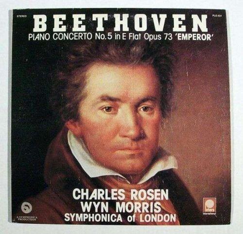 """BEETHOVEN ~ Piano Concerto No. 5 in E Flat Opus 73 'Emperor"""" LP"""