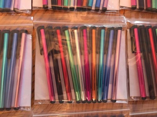 Styluses 10 pack - rainbow of colors / Fast Free USA Shipping