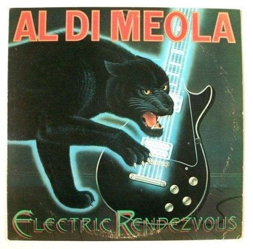 "AL DI MEOLA "" Electric Rendezvous "" 1982 Jazz LP"