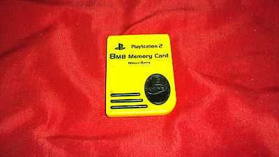 8MB MEMORY CARD FOR SONY PLAYSTATION 2 PS2 MAGICGATE NYKO PS-80516 GOOD CONDITON