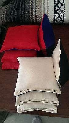 Cornhole bags - set of 8 Stop-N-Go style ACO Tounament Grade