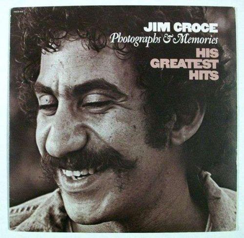 """JIM CROCE """" Photographs & Memories """" 1974 Pop Rock LP Greatest Hits"""