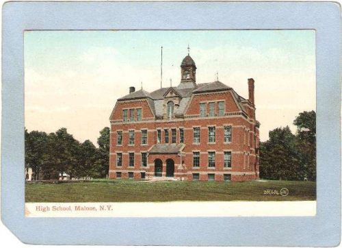 New York Malone High School ny_box5~1887